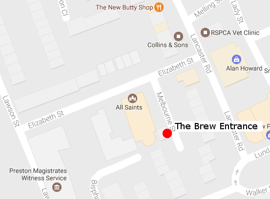 All Saints Brew Map